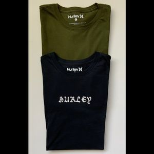 Hurley Men's Premium T-Shirts Bundle Of Two 'New'